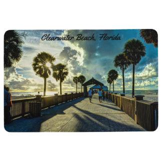 Clearwater Beach, Florida Floor Mat