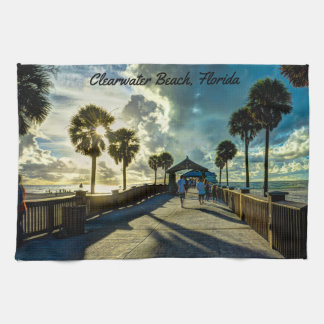 Clearwater Beach, Florida Tea Towel