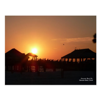 Clearwater Beach Pier Postcard