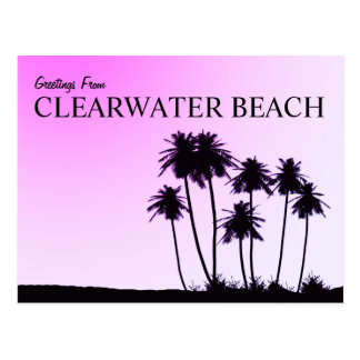 Clearwater Beach postcard