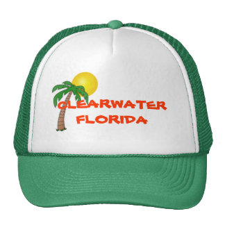 Clearwater Florida  palm tree hat