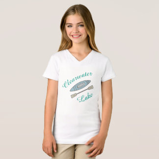 'Clearwater Lake' Kayak Design for young adults T-Shirt