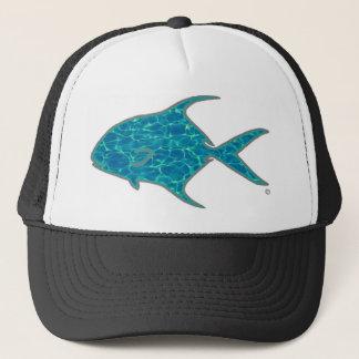"""""""Clearwater Permit"""" by Patternwear© Trucker Hat"""