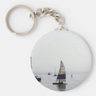 Cleethorpes early morning sailing key ring