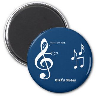 Clef's Notes Magnet