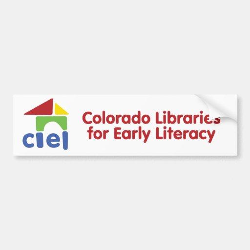 CLEL Logo Bumper Sticker