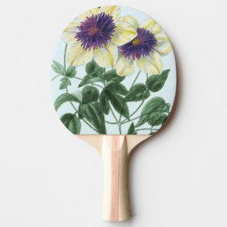 Clematis Flower Art