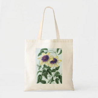 Clematis Flower Art Tote Bag