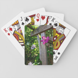 Clematis Flower Playing Cards