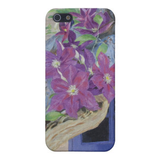 Clematis Vine iPhone 5/5S Cover