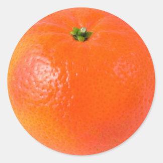Clementine orange Sticker