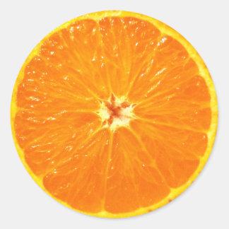 Clementine Round Sticker