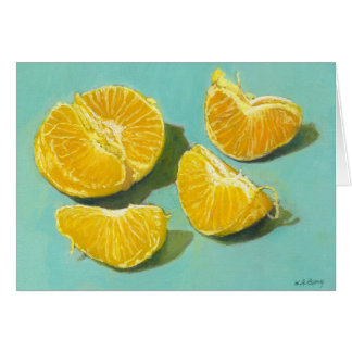 Clementine Segmants Greeting Card