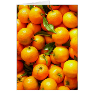 Clementines at Nice Fruit Market Card