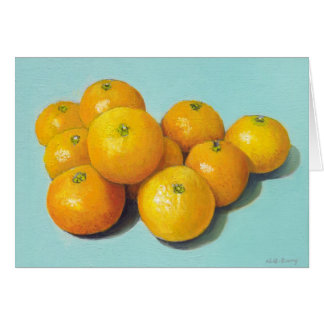Clementines Still-life Greeting Card