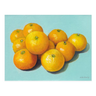 Clementines Still-life Postcards
