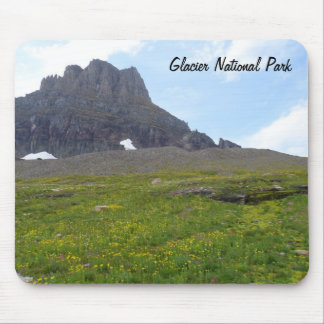 Clements Mountain- Glacier National Park Mouse Pad