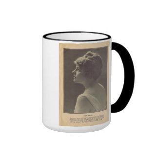 Cleo Ridgely 1916 vintage Hollywood portrait mug