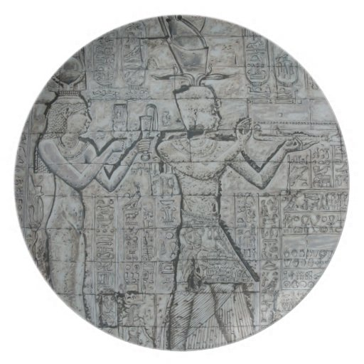 Cleopatra and Caesarion Party Plate