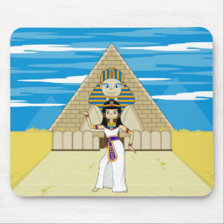 Cleopatra & Great Sphinx of Giza Mousepad