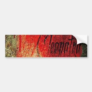 Cleopatra ID Bumber Promo Bumper Sticker