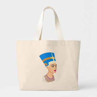 cleopatra large tote bag
