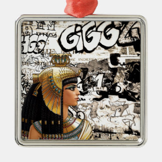 Cleopatra Metal Ornament