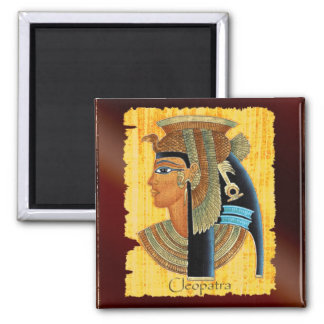 """""""Cleopatra"""" Queen of Ancient Egypt Art Magnets"""