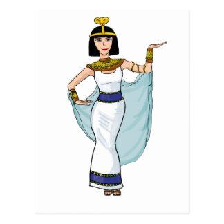 Cleopatra the Pharaoh of Egypt Postcard