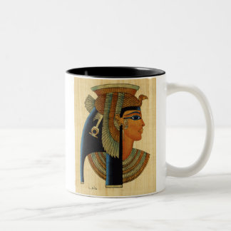 Cleopatra Two-Tone Coffee Mug