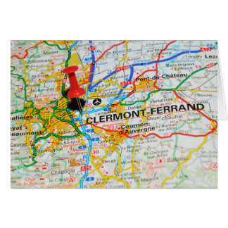 Clermont-Ferrand, France Card