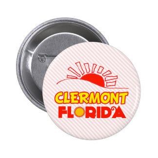 Clermont, Florida 6 Cm Round Badge