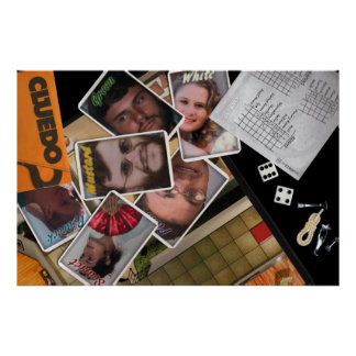 Cleudo Personalized Poster