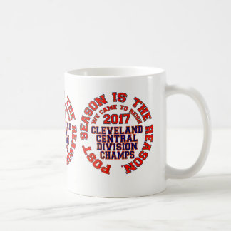 Cleveland 2017 Central Division Champs Coffee Mug