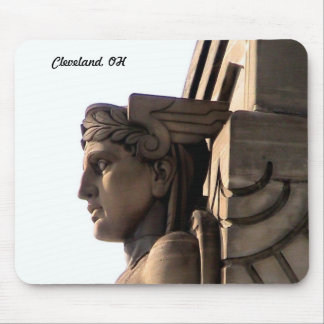Cleveland Art Deco ( Bridge Guard)Mousepad Mouse Pad