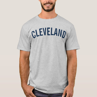 Cleveland Baseball T-Shirt Indians Tribe Shirt Men
