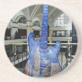 Cleveland Guitar III Coaster