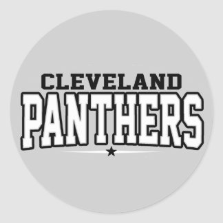 Cleveland High School; Panthers Stickers