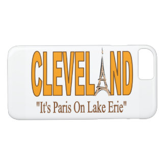 Cleveland, It's Paris On Lake Erie Phone Case