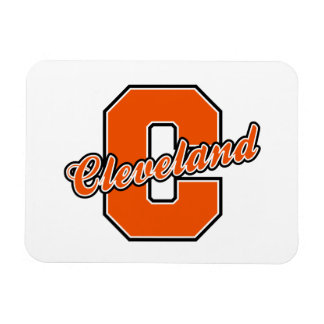 Cleveland Letter Rectangle Magnets