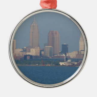 CLEVELAND METAL ORNAMENT