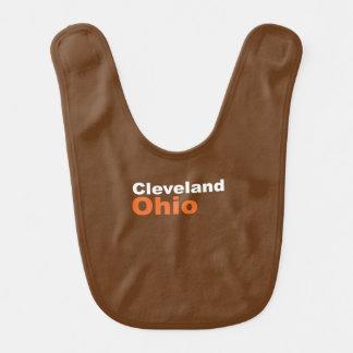 Cleveland, Ohio Baby Bib