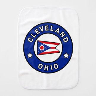 Cleveland Ohio Burp Cloth