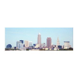 Cleveland Ohio Classic Skyline Canvas Print