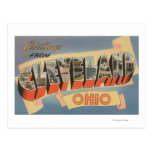 Cleveland, Ohio - Large Letter Scenes Postcard