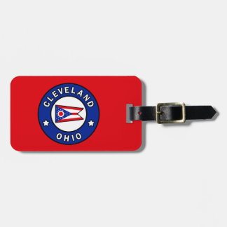 Cleveland Ohio Luggage Tag