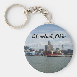 CLEVELAND,OHIO ON LAKE ERIE keychain