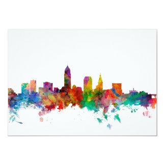 Cleveland Ohio Skyline Card