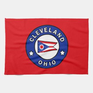 Cleveland Ohio Tea Towel