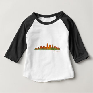 Cleveland Ohio the USA Skyline City v01 Baby T-Shirt
